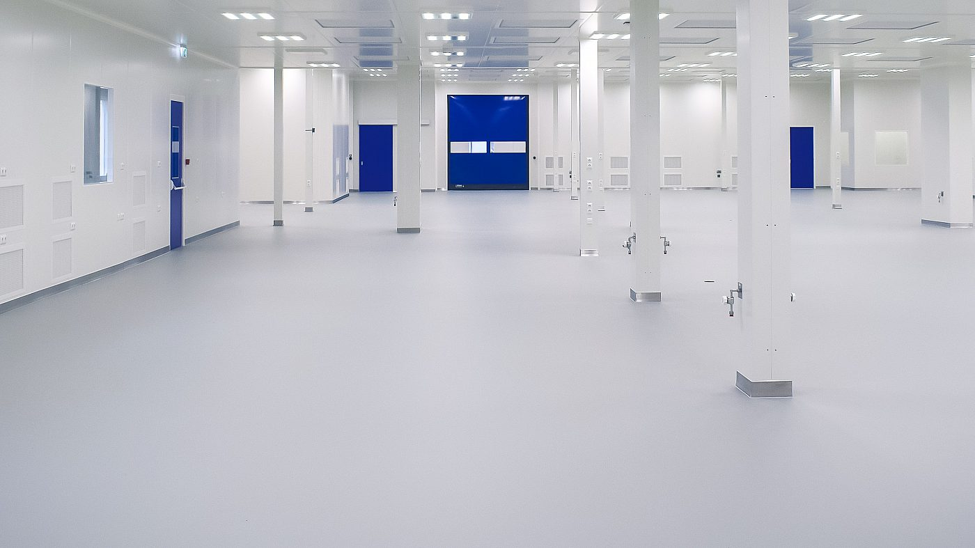 Leading the way in modular<br>& pre-engineered cleanroom solutions